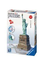 Ravensburger 12584 - Puzzle 3D Statua della Libertà 108 pezzi