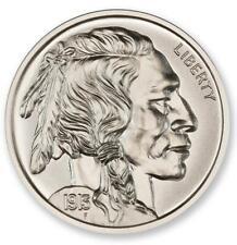 2oz Buffalo Nickel Tritube .999 Silver BU 39MM Indian Head High Relief Round ***