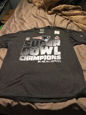 SUPER BOWL 51 NEW ENGLAND We Are All Patriots Large L T-Shirt Genuine Fanatics