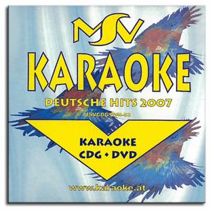 Karaoke DVD CDG CD+G - Deutsche Rock Pop und Chart Hits Vol.2 - Neuware