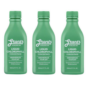 Grants Liquid Chlorophyll Concentrate - Spearmint Flavour - 500ml