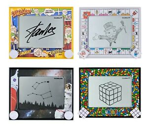 Etch A Sketch 60 Anniversary Limited Edition Stan Lee Monopoly NASA Rubik's Cube