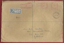 Southern Rhodesia 1960 Machine Cancel QUE QUE to GATOOMA 23/4 Mar