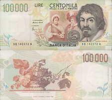 """100.000 lire 1999 """"Caravaggio"""" Serie speciale X"""