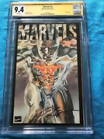 Marvels #3 - Marvel - CGC SS 9.4 NM - Signed by Kurt Busiek
