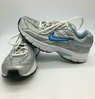 Nike Initiator Women's Running Athletic Sneakers Silver Blue 390463-001 Size 7.5