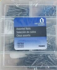 Helping Hand 156910 Nails Assorted 550 Piece Set,