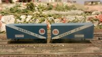 Athearn HO BB  Pair of Piggyback Trailers, Wabash, Exc.