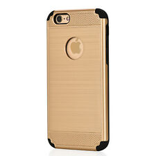 NEW FOR APPLE IPHONE 7 + 7 PLUS HARD WEARING GEL SILICONE SHOCK PROOF CASE COVER