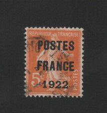 PREO 036 N°36  5 C ORANGE TYPE SEMEUSE CAME POSTE FRANCE 1922