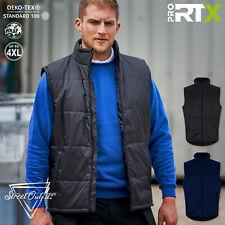 Mens Pro Bodywarmer Work Uniform Padded Gilet Body Warmer Workwear Jacket Top