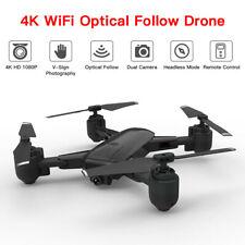 4K WiFi RC Drone Foldable Quadcopter HD Camera Mini Headless Mode Remote Control