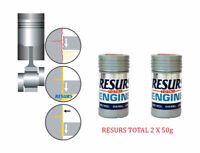 RESURS Total 2X 50 g Nano Engine Oil Additive Engine Restorer 2 X 1.76oz