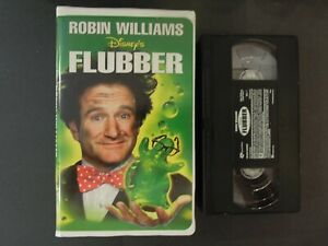"""DISNEY'S """"FLUBBER """" ON VHS IN CLAMSHELL CASE *TCI#R"""