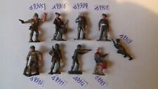 (48) soldats plastiques à l'unité : starlux, cofalux, bedford, michel, clairet
