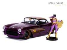 DC Bombshells Batgirl 1957 Chevy Corvette 1 24 Scale Hollywood Rides Jada Toys