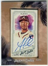 2018 Topps Allen & Ginter Ozzie Albies Framed Auto RC  Braves