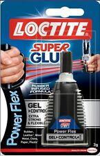 120 LOCTITE SUPER ATTAK POWER FLEX GEL controllo liquido adesivo flessibile 3g Bottiglia