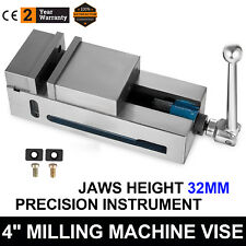 """4"""" Super-Lock Precision CNC Vise Milling Clamping High Accuracy Solid Chiseling"""