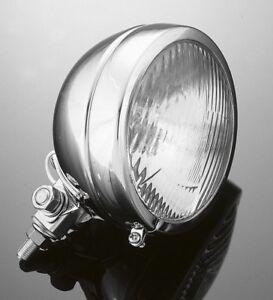CHROME SPOT LIGHT / FOG / DRIVING LIGHT Motorcycle/Chopper/Bobber/Harley: 68-133