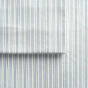 Cuddl Duds FLANNEL queen SHEET SETS / blue stripe / BRAND NEW / RETAIL: $89.99