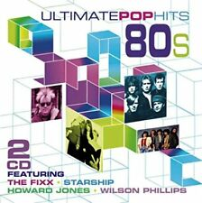Ultimate Pop Hits of the '80s (Eighties) CD, 2015,  21 Tracks on 2 Discs, New
