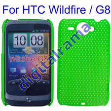 Case in PVC Ultra Slim Perforated Green x HTC G8/Wildfire