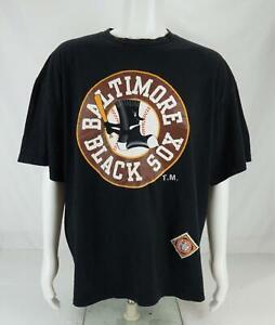 Big Land Baltimore Black Sox Negro League Baseball T-Shirt Black Men's 3X