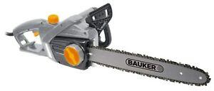 Bauker 40cm Electric Chainsaw 230V 2000W GCS400Y DIY Chain Saw for Log Cutting