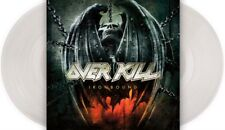 OVERKILL IRONBOUND 2x LP *RARE* CLEAR VINYL EU 1st PRESSING 2010 NUMBERED!! New