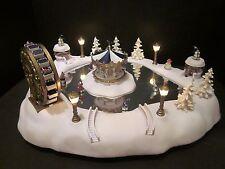 Trendmasters Christmas Magic Carnival Winter Wonderland Music Animated Skating