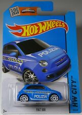 Hot wheels Fiat 500
