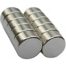 Reborn Doll Pacifier 10 X Strong Rare Earth Neodymium Magnet Discs 10mm x 5mm