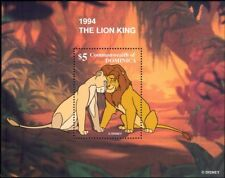 Dominica 1997 Disney/Lion King/Animation/Cartoons/Films/Cinema 1v m/s (b4782)