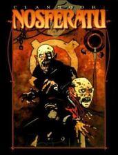 "NM Vampire: The Masquerade ""Clanbook Nosferatu"" RPG Roleplaying - FREE SHIPPING!"