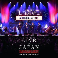 IL DIVO - A MUSICAL AFFAIR LIVE IN JAPAN – NEW CD / DVD ALBUM