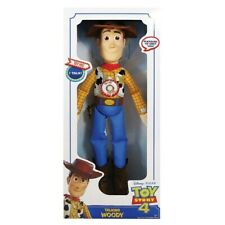 Toy Story 4 Large Talking Plush Woody NEW