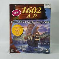 1602 A.D. VTG Big Box PC Game 1999 CD-ROM