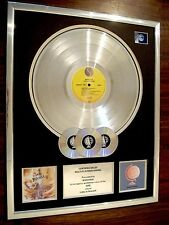 MADONNA LIKE A PRAYER LP MULTI PLATINUM DISC RECORD AWARD ALBUM
