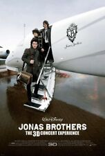 JONAS BROTHERS 3D CONCERT EXPERIENCE MOVIE POSTER ORIGINAL DS ROLLED 27x40