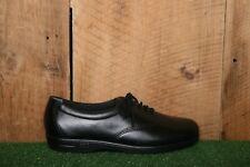 SAS 'Whisper' Black Leather Oxfords Comfort Walking Shoes Women's Sz. 6.5 N