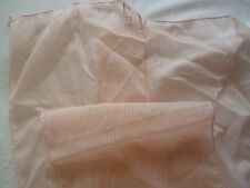 New Lady's Pale Pink Chiffon Scarf with stripe design Length 72""