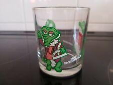 Vintage/Retro Ferrero Nutella Crocodile Crocos Glass Tumbler c 1992