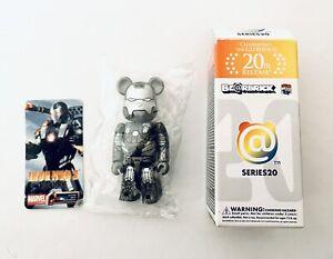 Bearbrick Series 20 - Iron Man - Medicom Be@rbrick RARE SEALED Kaws