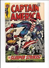 Captain America #102 June 1968 The Sleeper Jack Kirby