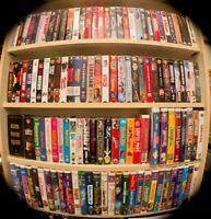 VHS LOT 5 for 10$ See List Action Drama Westerns romance family comedy Sci-Fi