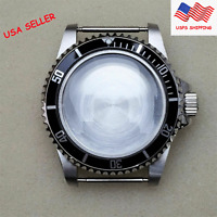 Replacement 39.5MM Stainless Steel Watch Case for NH35 NH36 Watch Movement #US