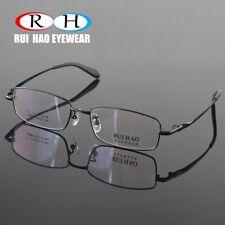 Glasses Eyewear Eyeglass Women Men Titanium Frame Fullrim Rectangl light durable