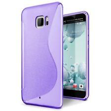 Handy Hülle HTC U Ultra Schutz Case Silikon Cover Tasche Schutzhülle Bumper