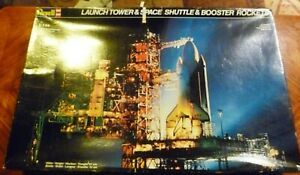 REPRODUCTION DECALS ONLY: REVELL SPACE SHUTTLE LAUNCH TOWER AND BOOSTER ROCKET